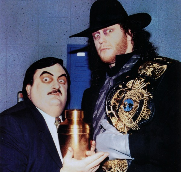 Undertaker Paul Bearer Funeral