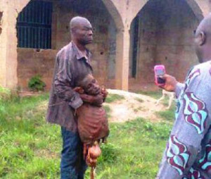 WICKED! Father beheads 5 yr old son for 'Fake' $6,000 Money Ritual