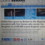 DAILY MAIL LONDON